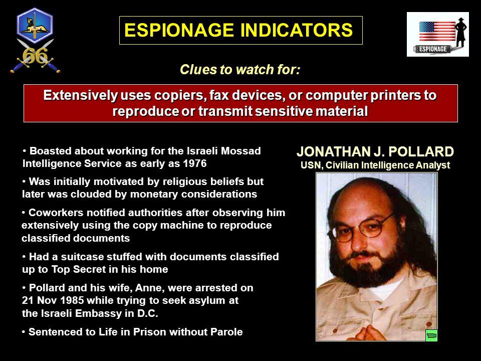 USN, Civilian Intelligence Analyst
