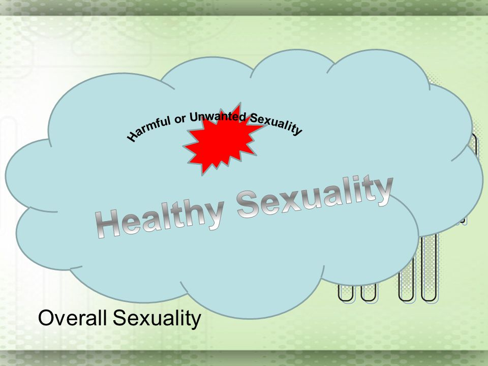 Overall Sexuality Harmful or Unwanted Sexuality Healthy Sexuality