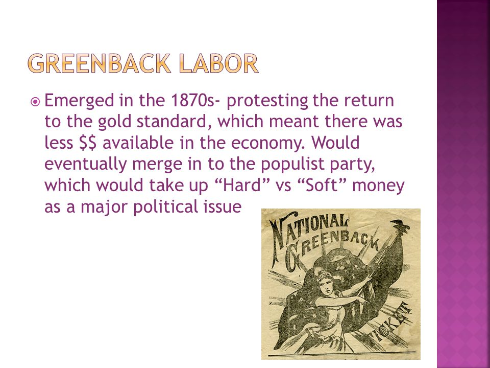 Greenback Labor