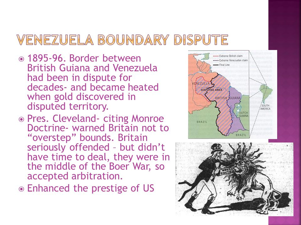 Venezuela Boundary Dispute