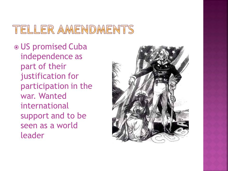 Teller Amendments