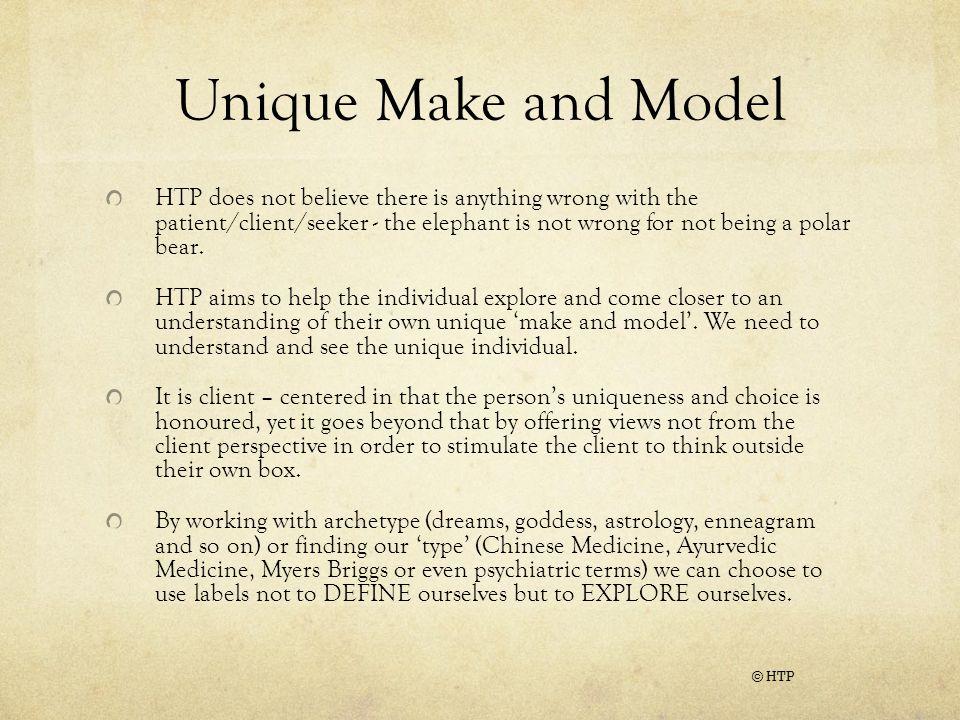 Unique Make and Model