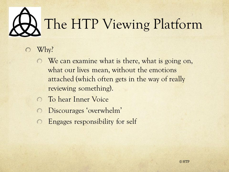 The HTP Viewing Platform