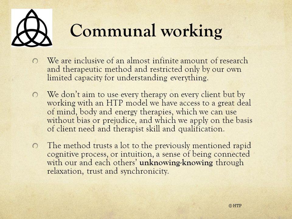 Communal working