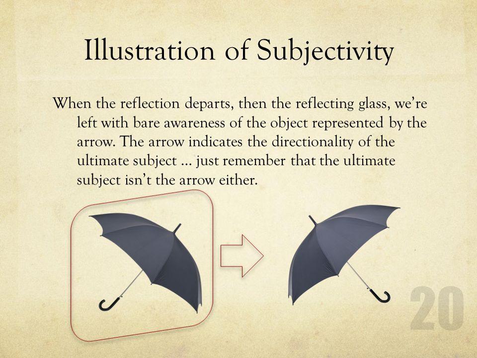 Illustration of Subjectivity