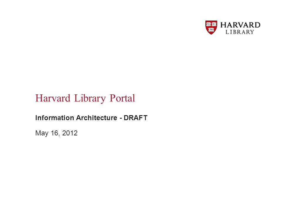 Harvard Library Portal