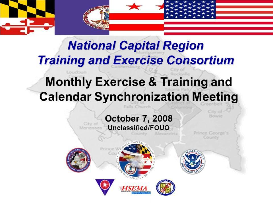 National Capital Region Training and Exercise Consortium