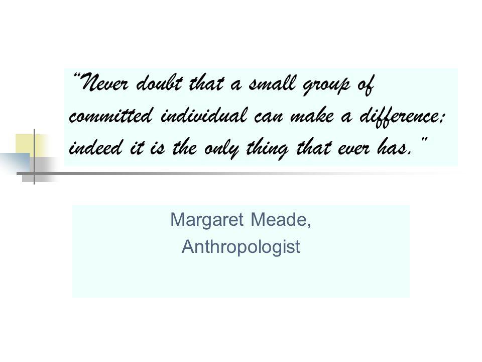 Margaret Meade, Anthropologist