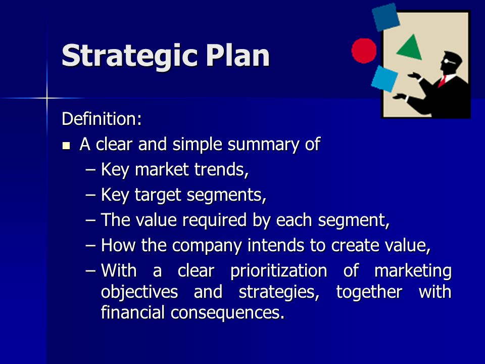 Strategic Plan Definition: A clear and simple summary of