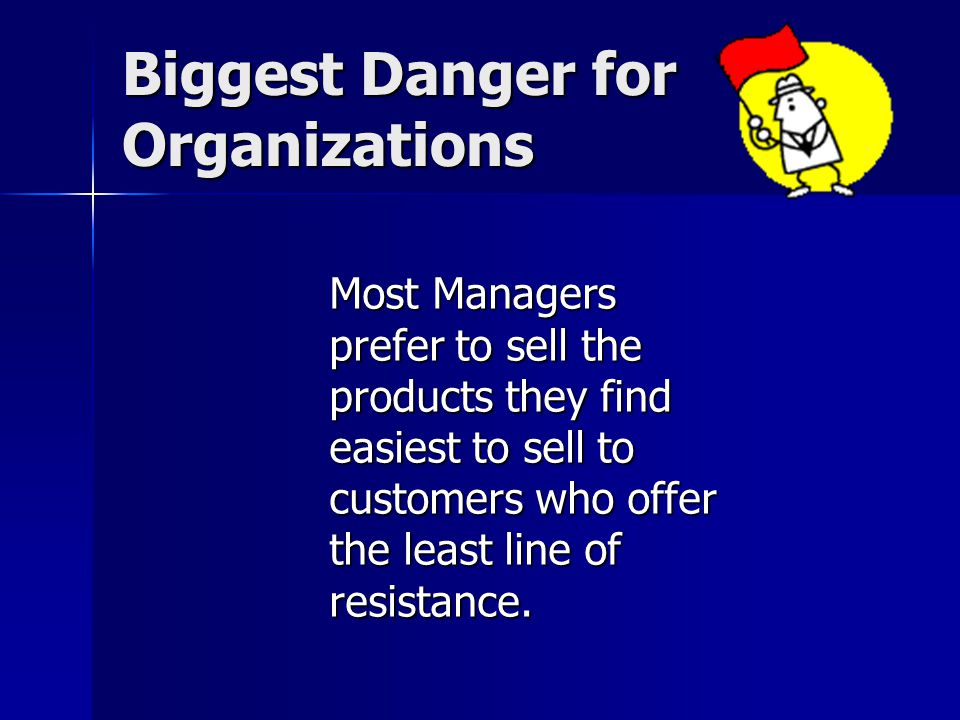Biggest Danger for Organizations