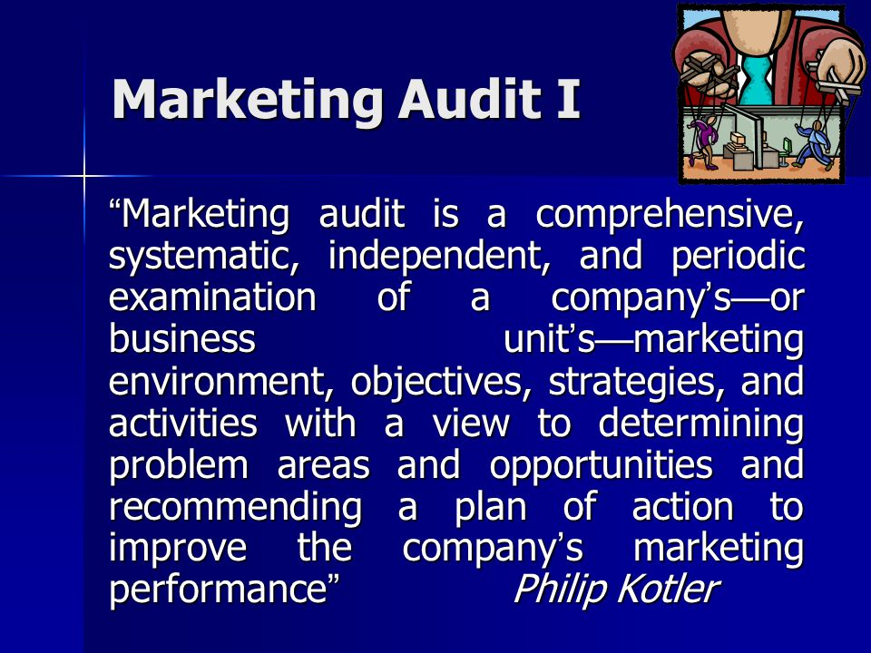 Marketing Audit I