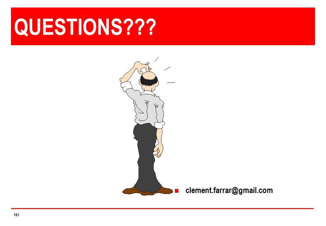 QUESTIONS clement.farrar@gmail.com