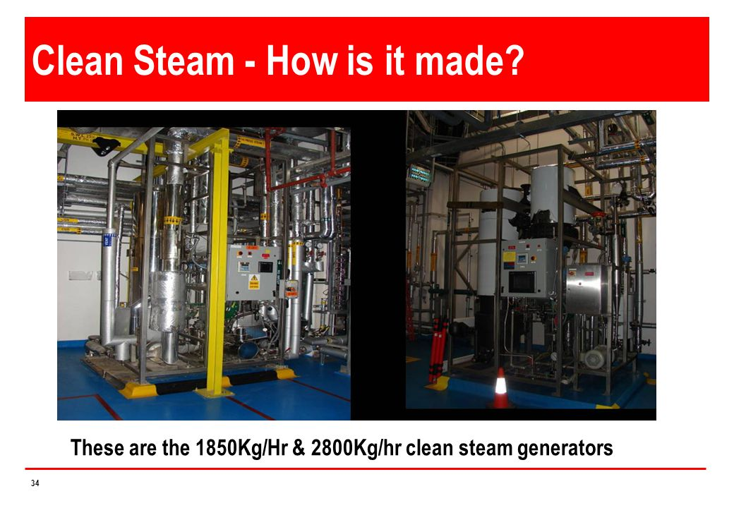 Clean Steam - How is it made
