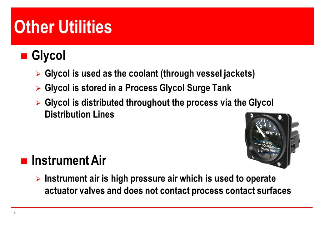 Other Utilities Glycol Instrument Air