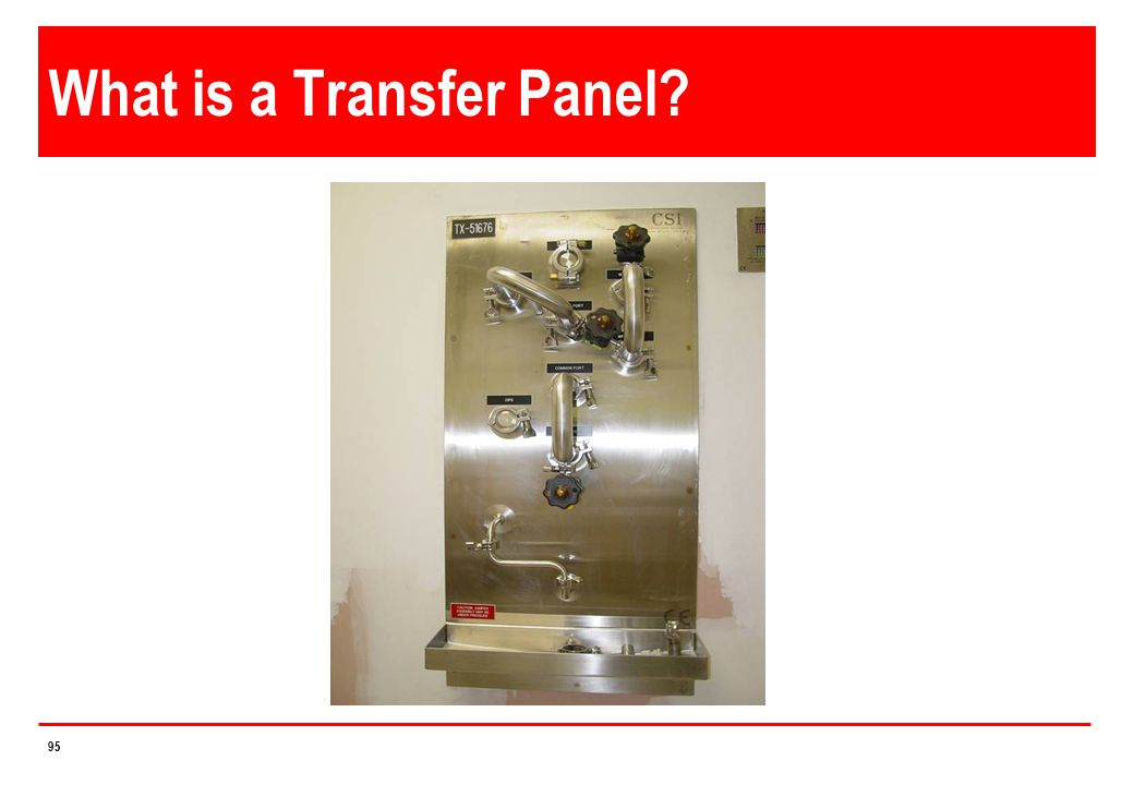 What is a Transfer Panel