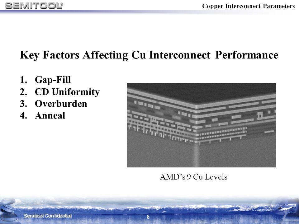 Key Factors Affecting Cu Interconnect Performance