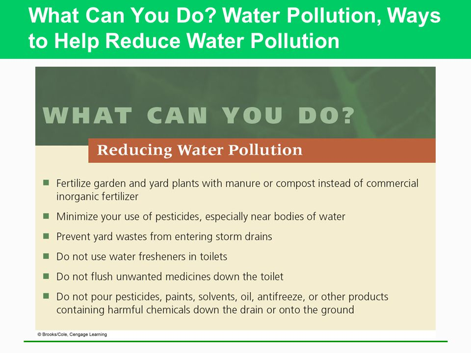 What Can You Do Water Pollution, Ways to Help Reduce Water Pollution