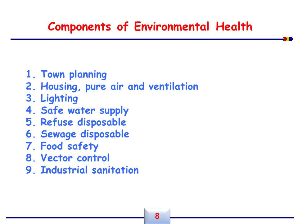 Components of Environmental Health