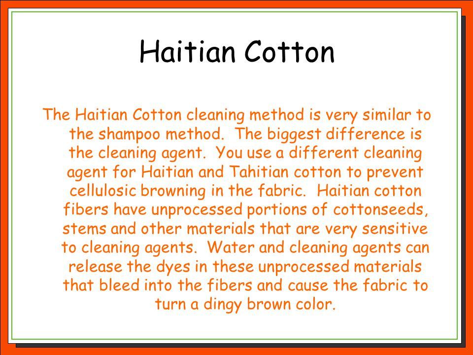 Haitian Cotton