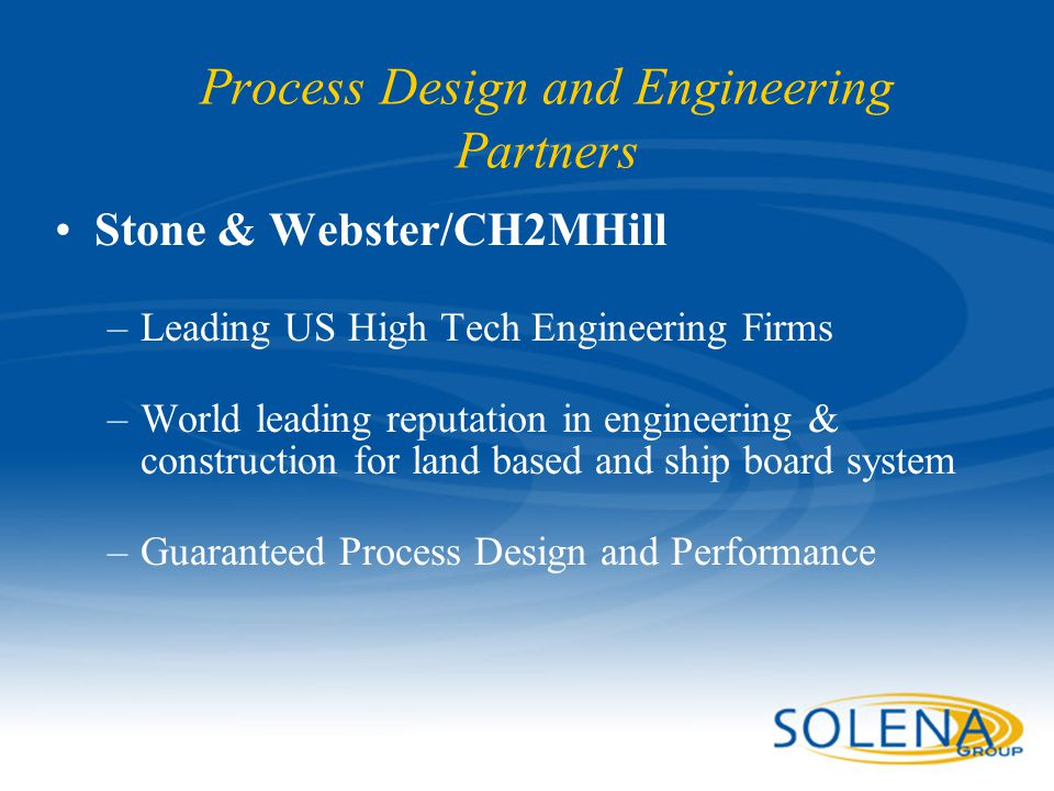 Process Design and Engineering Partners