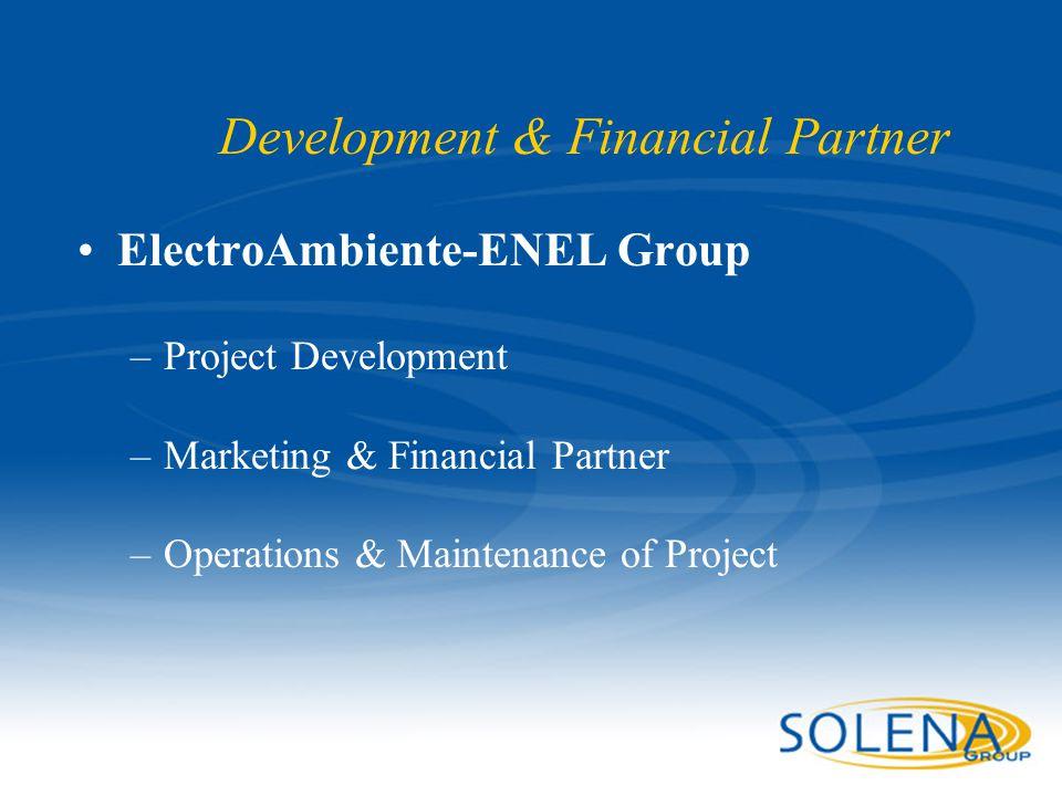Development & Financial Partner