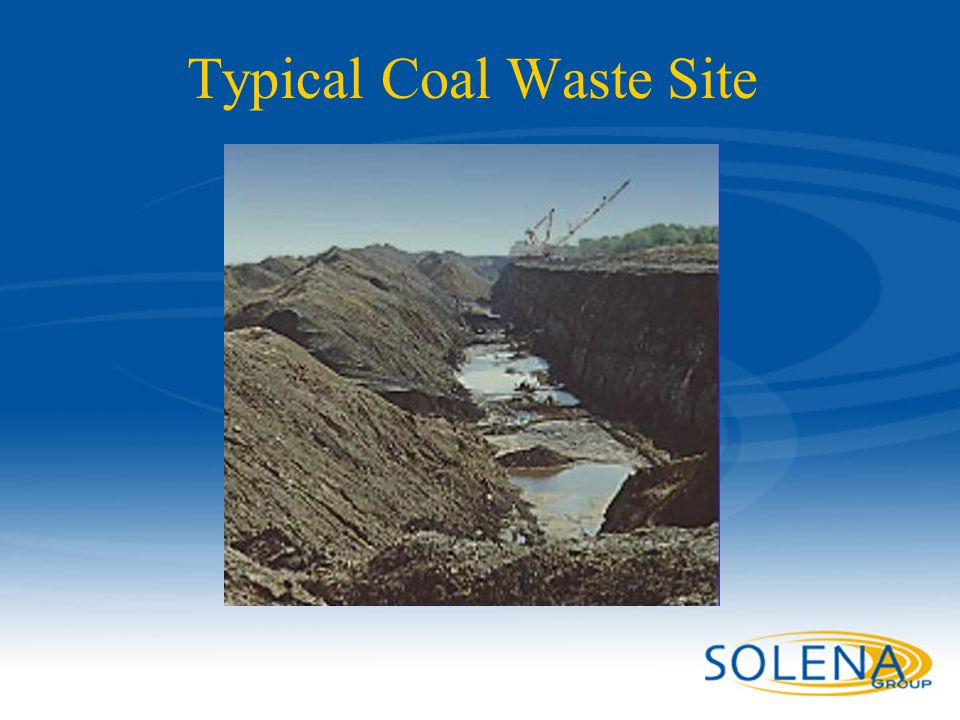 Typical Coal Waste Site