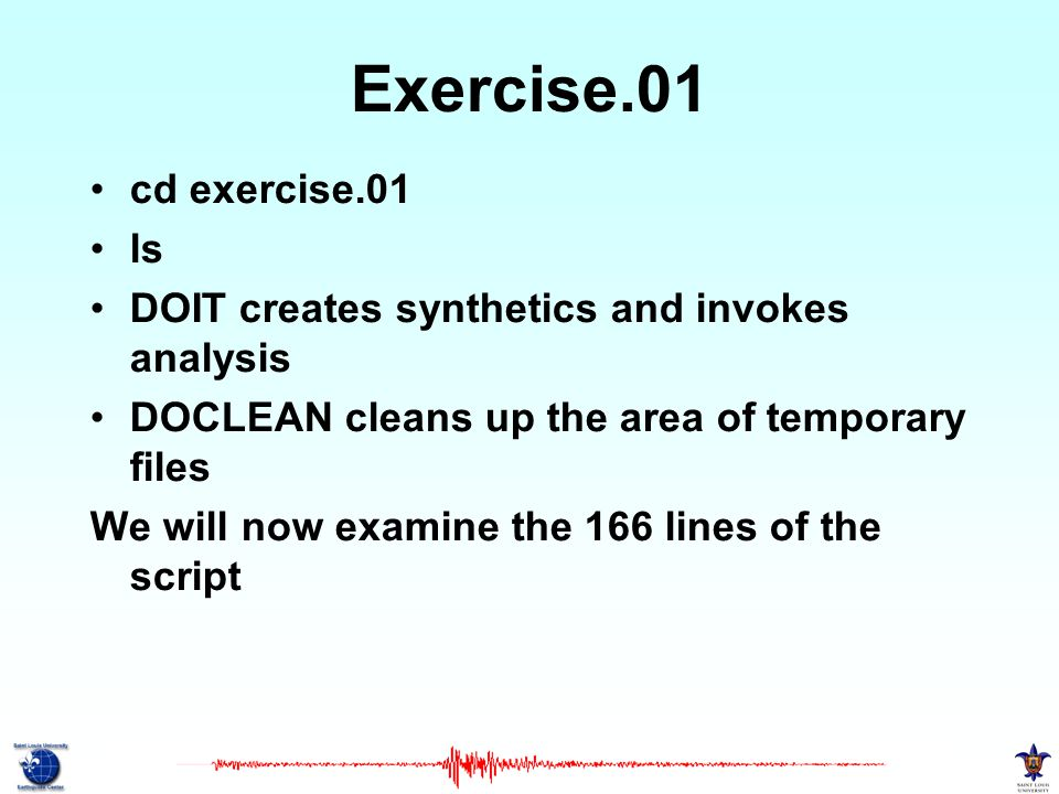 Exercise.01 cd exercise.01 ls