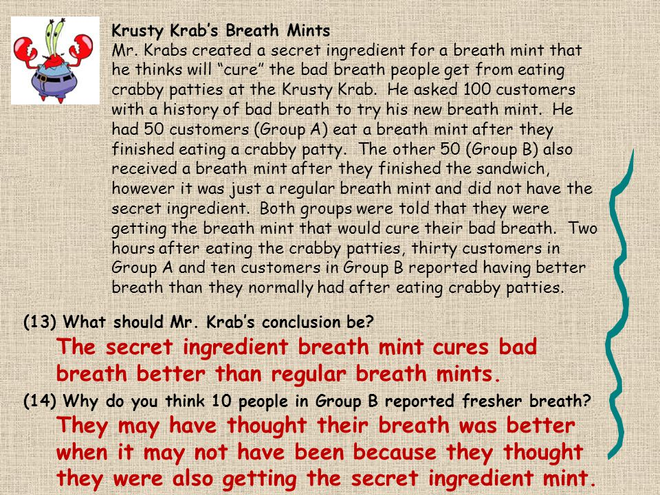 Krusty Krab's Breath Mints