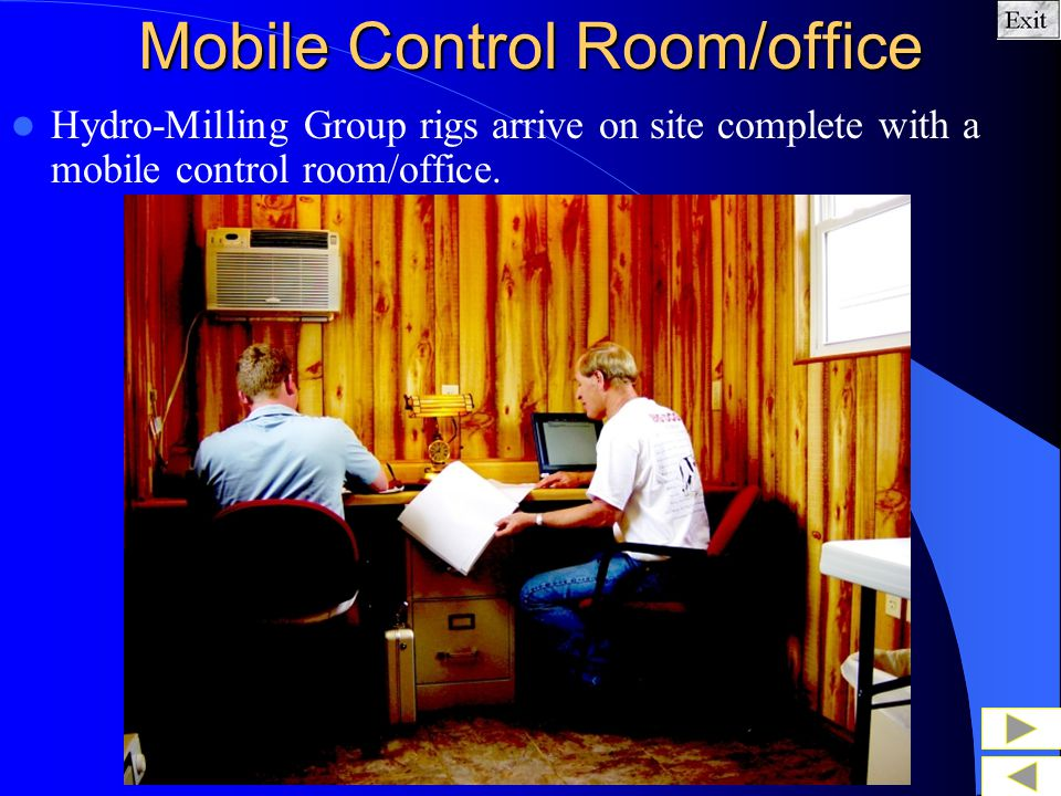 Mobile Control Room/office