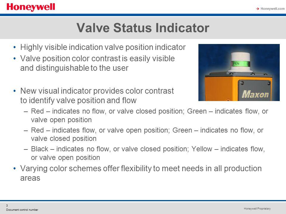 Valve Status Indicator