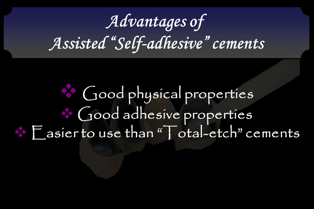 Good physical properties