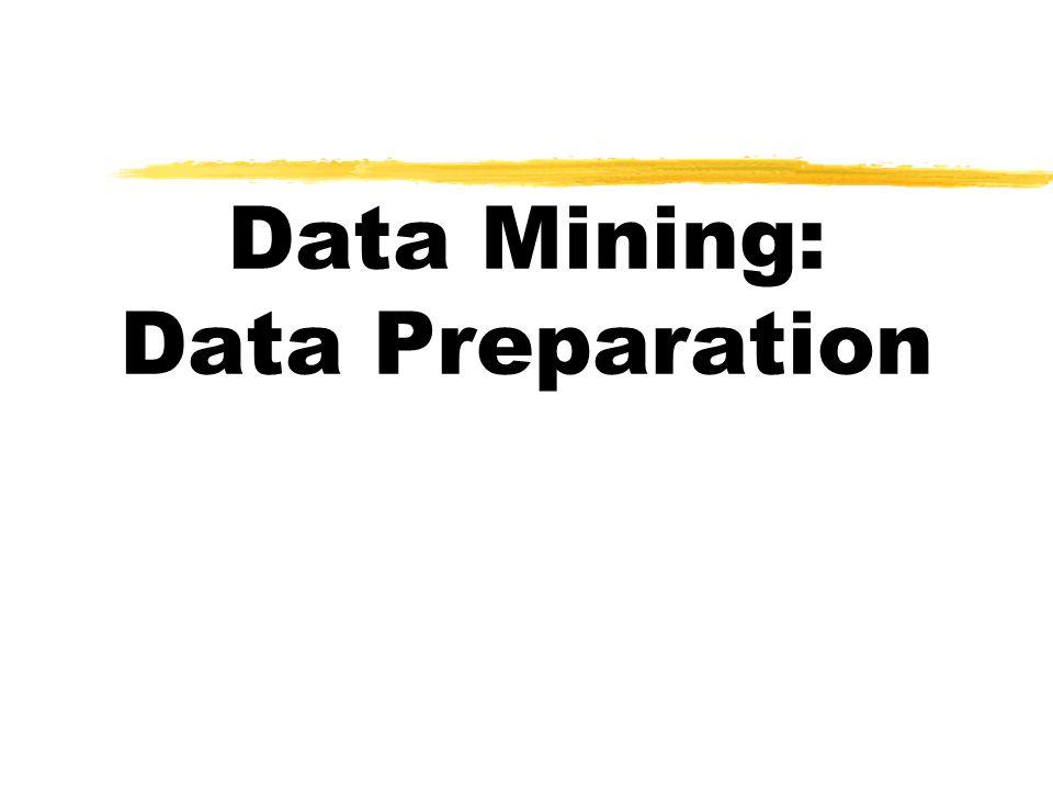 Data Mining: Data Preparation