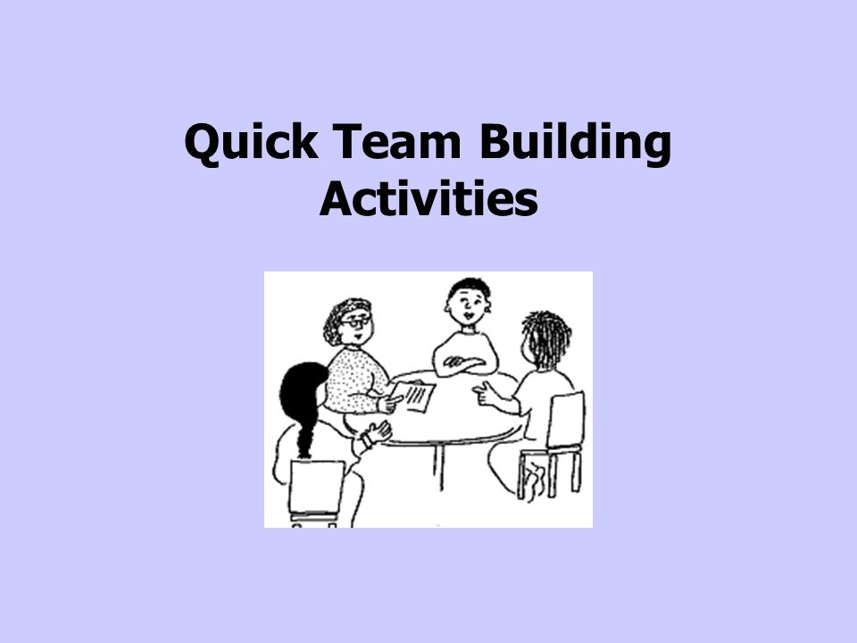 Quick Team Building Activities