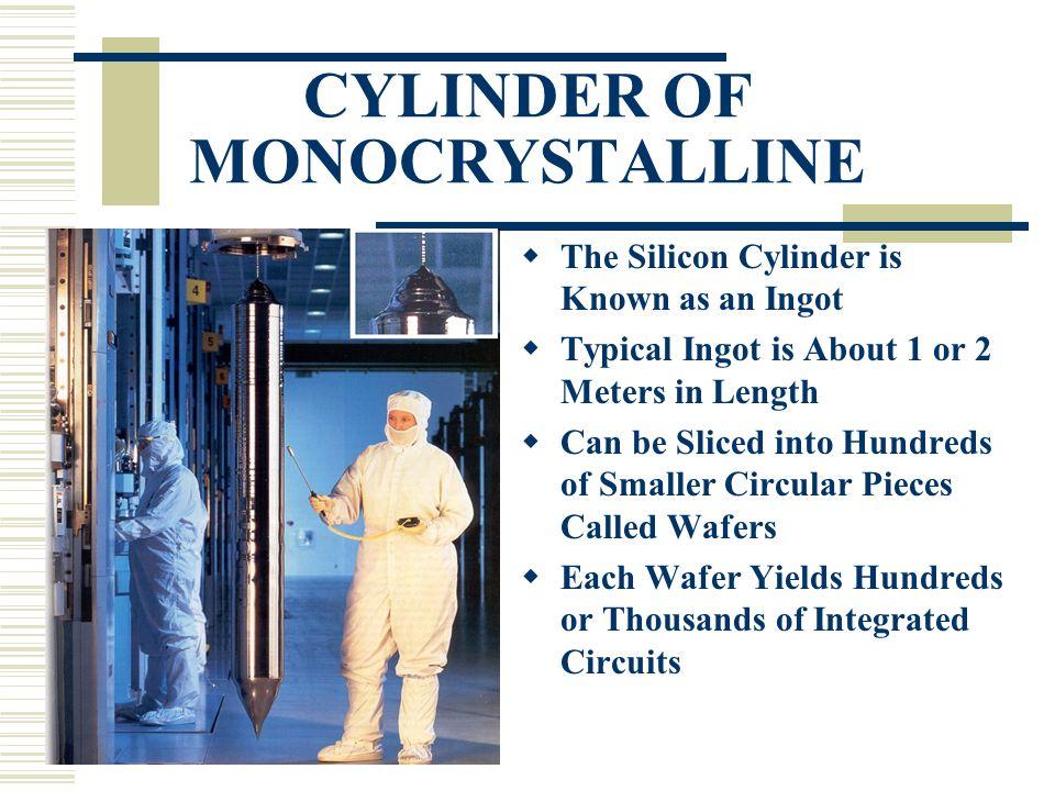 CYLINDER OF MONOCRYSTALLINE