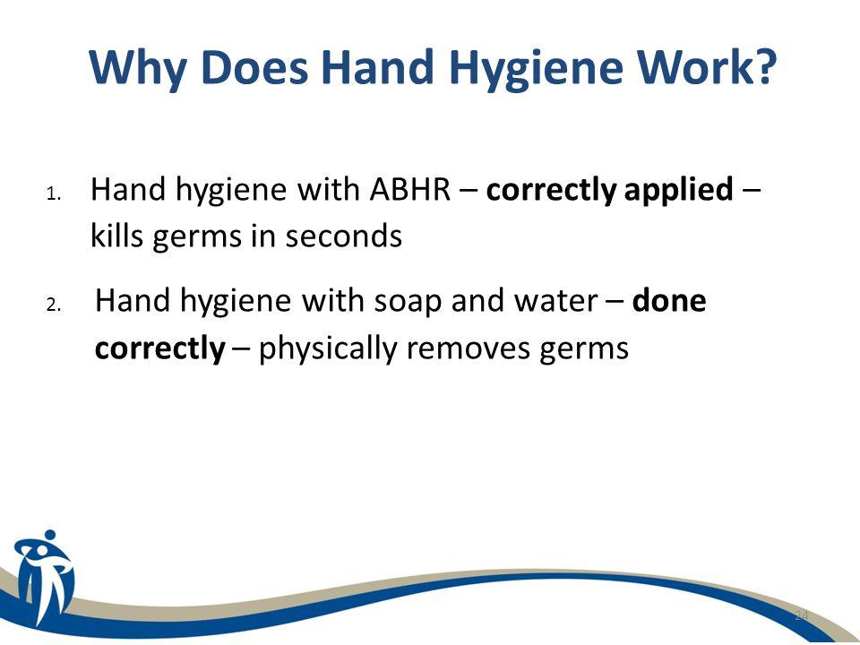 Why Does Hand Hygiene Work