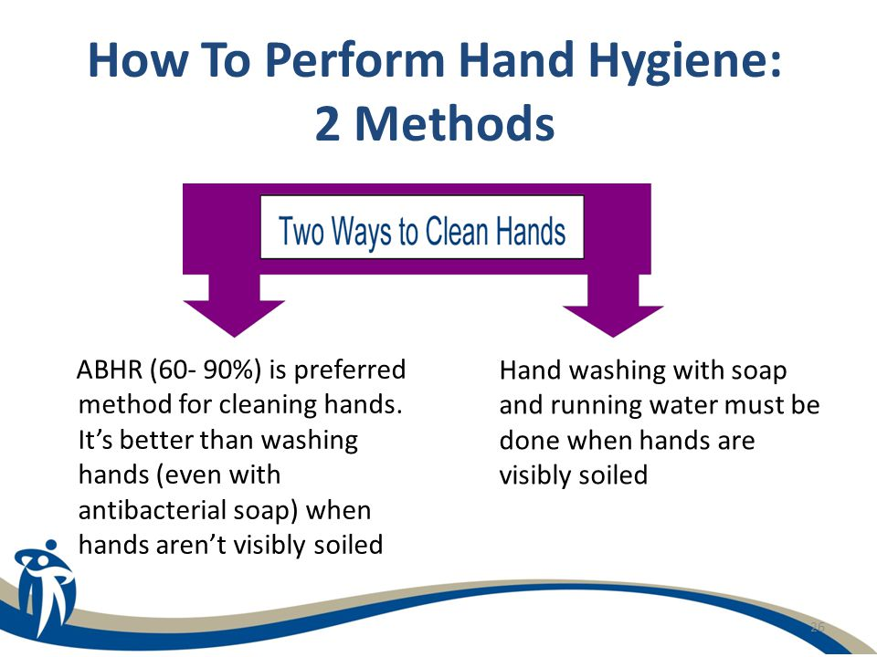How To Perform Hand Hygiene: 2 Methods