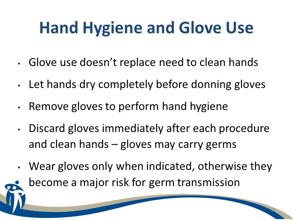 Hand Hygiene and Glove Use