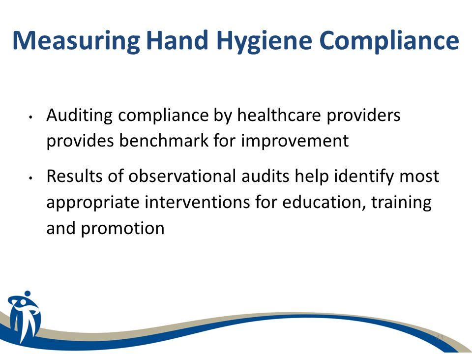 Measuring Hand Hygiene Compliance