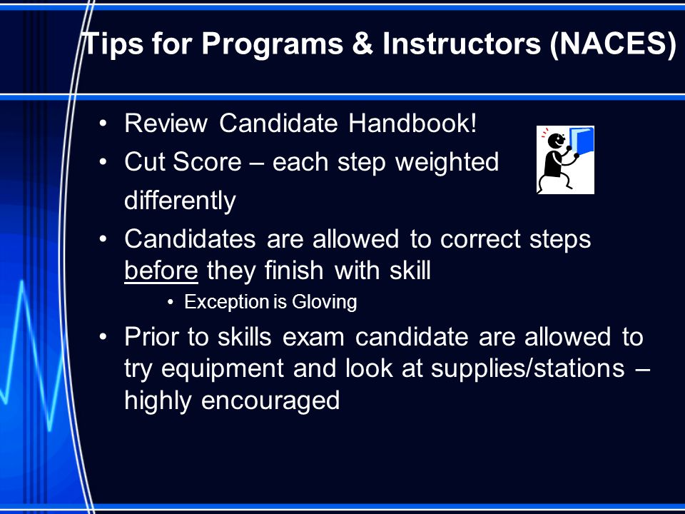 Tips for Programs & Instructors (NACES)