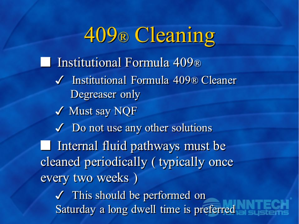 409® Cleaning Institutional Formula 409®