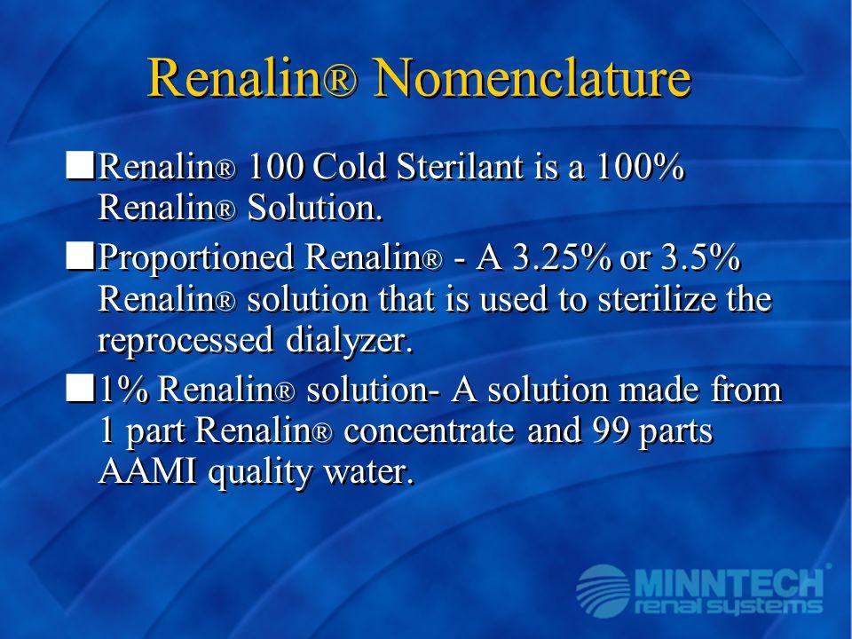 Renalin® Nomenclature
