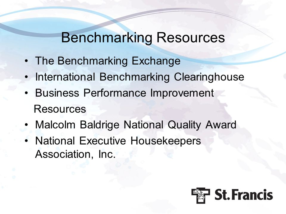 Benchmarking Resources