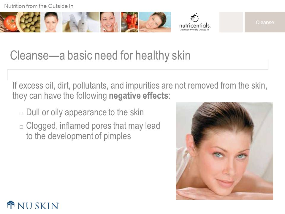 Cleanse—a basic need for healthy skin
