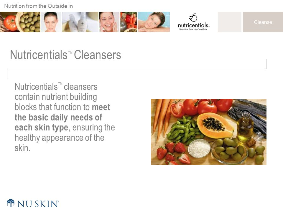 Nutricentials™ Cleansers