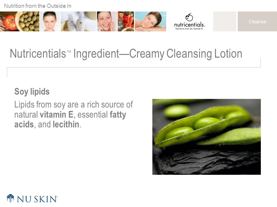 Nutricentials™ Ingredient—Creamy Cleansing Lotion
