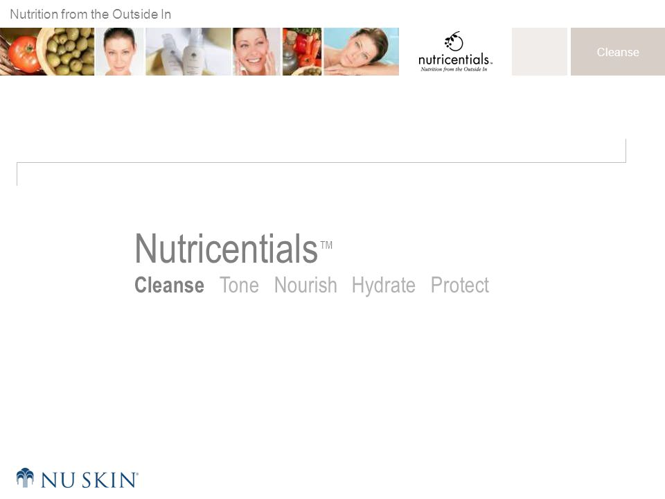 Nutricentials™ Cleanse Tone Nourish Hydrate Protect