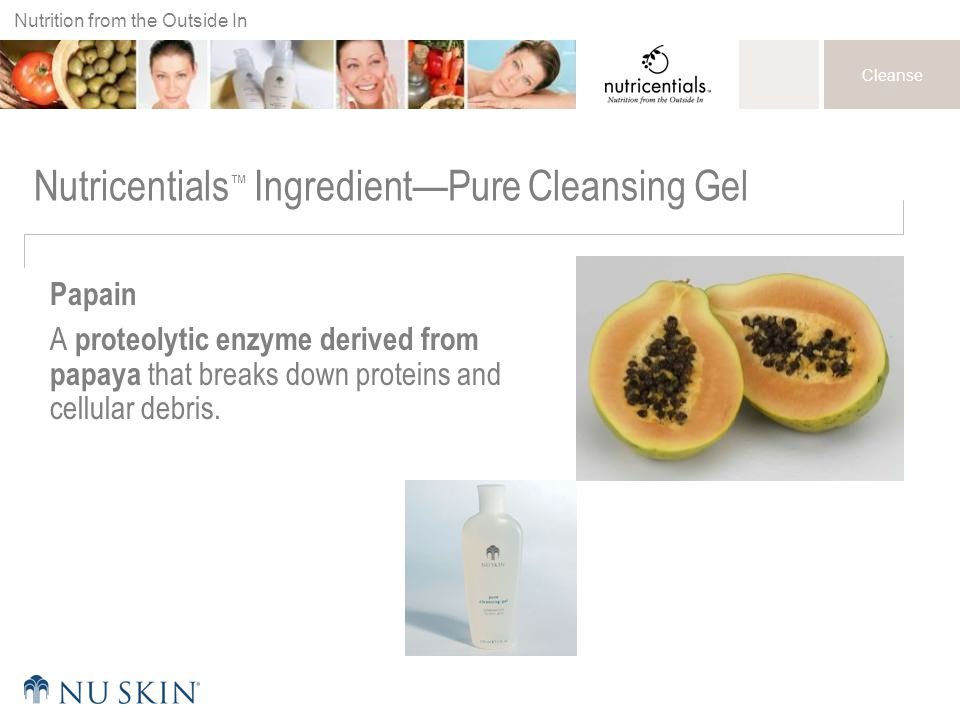Nutricentials™ Ingredient—Pure Cleansing Gel