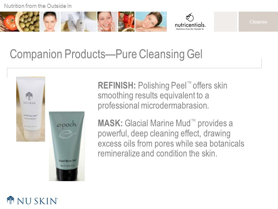 Companion Products—Pure Cleansing Gel