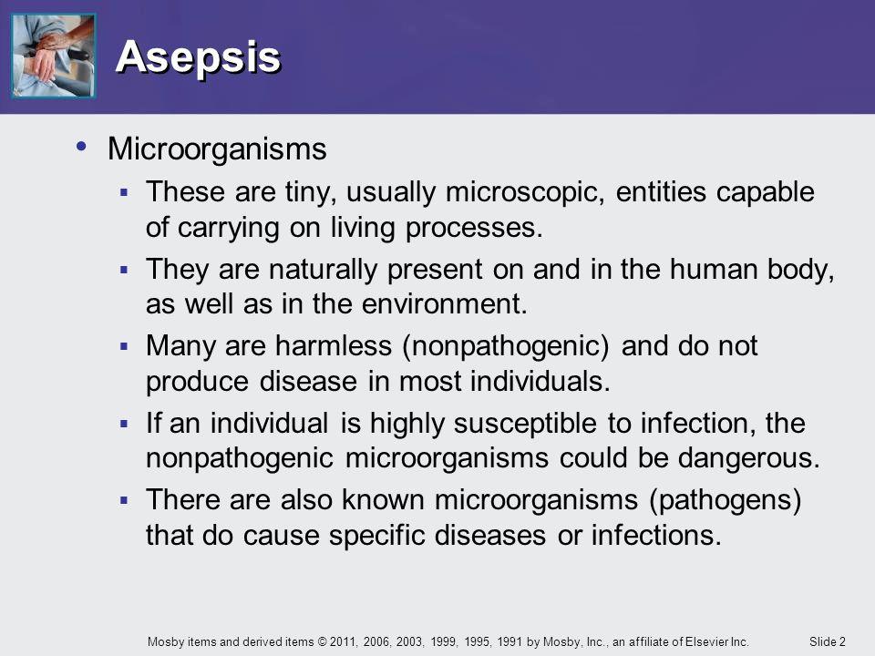 Asepsis Microorganisms