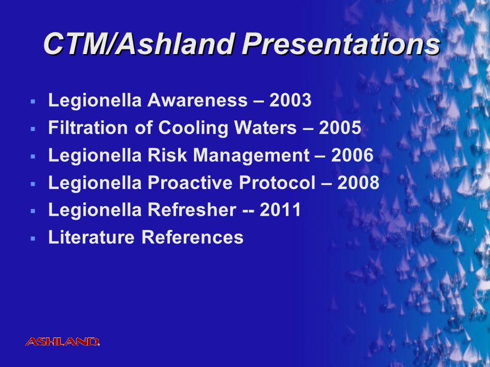 CTM/Ashland Presentations